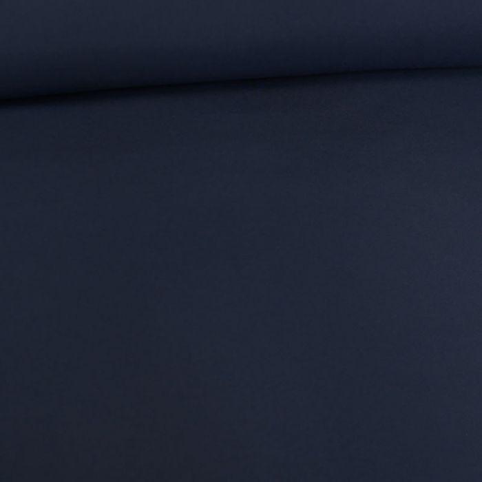 Tissu softshell magic splash - bleu jean x 10 cm