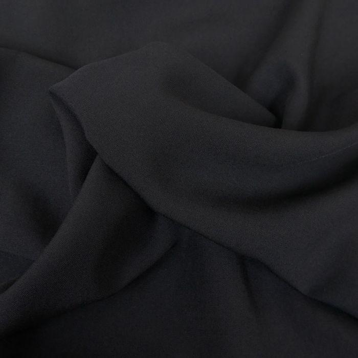 Tissu laine - Marine x 10 cm