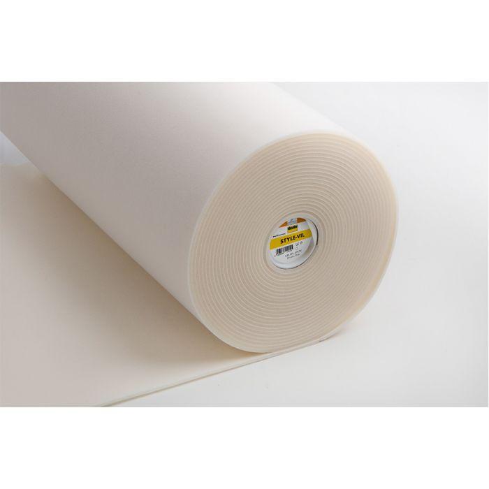 Entoilage Style-Vil Vlieseline - blanc x 10 cm