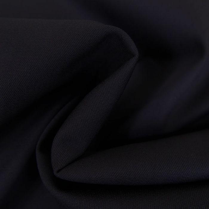 Tissu coton stretch bleu x 10 cm