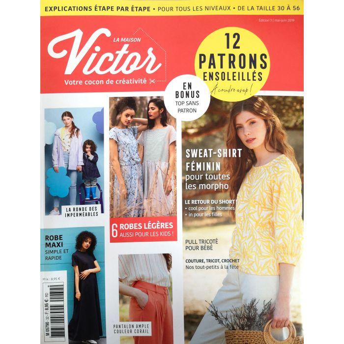 cf8bfbc0338 Magazines et patrons La Maison Victor - Atelier de la création