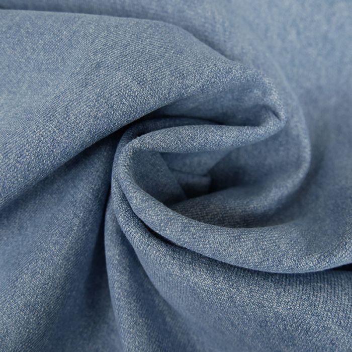 Tissu Denim - bleu vintage x 10 cm
