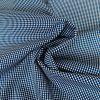 Tissu coton pois reliés - bleu cobalt x 10 cm