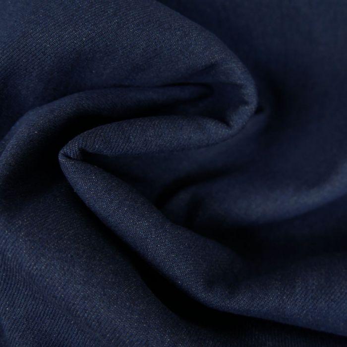 Tissu Denim Élasthanne - Bleu x 10 cm