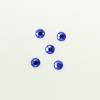Perles à coller strassées 4mm bleu roi x5
