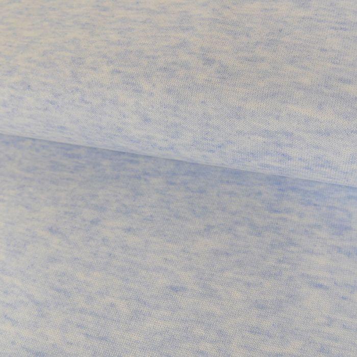 Tissu Jersey Léger - Bleu Ciel x 10 cm