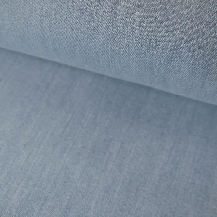 Tissu Jean Denim - Bleu Délavé x 10 cm