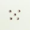 Perles à coller strassées 4mm rose saumon x5