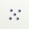 Perles à coller strassées 4mm violet clair x5