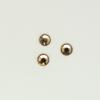 Perles à coller strassées 5mm ambrée