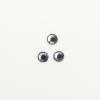 Perles à coller strassées 5mm gris