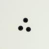 Perles à coller strassées 5mm noir