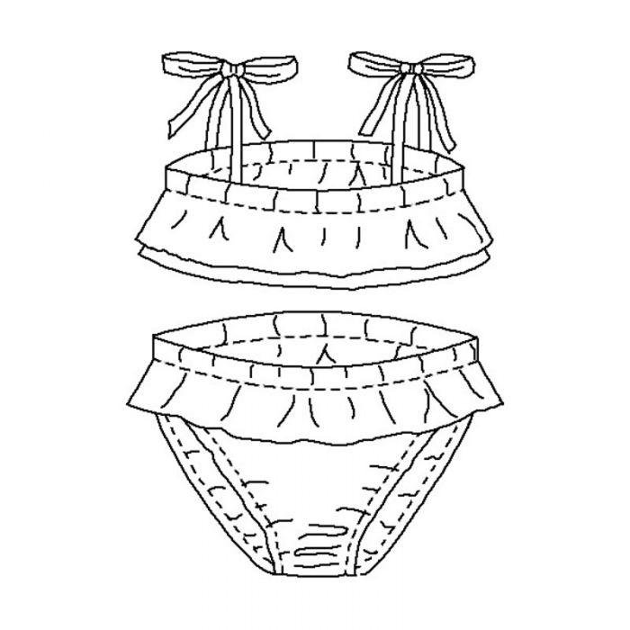 Maillot de bain Poopoopidoo - P&M Patterns
