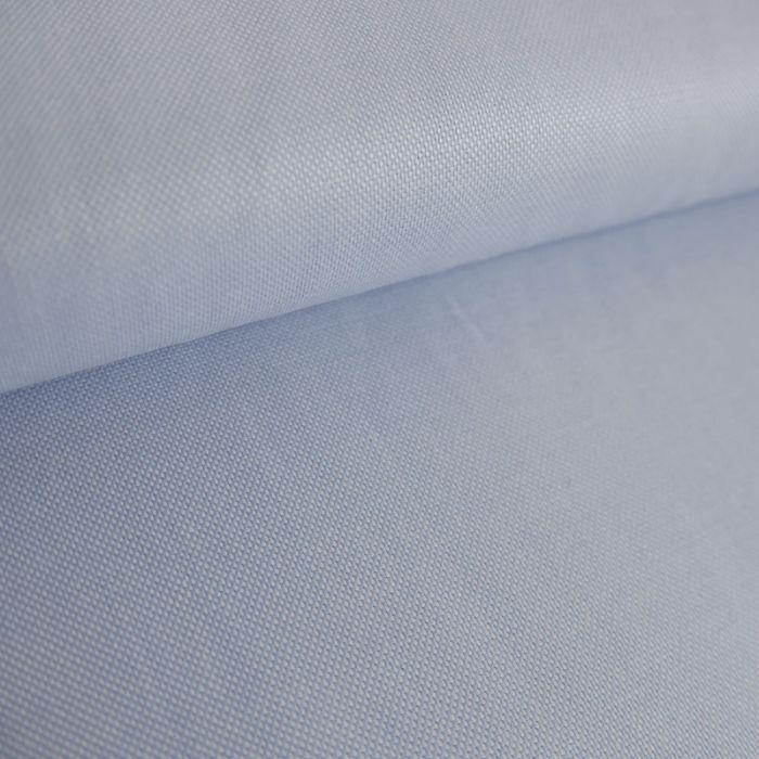 Tissu Oxford - Bleu Ciel x 10 cm