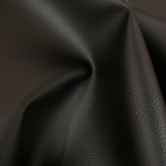 Tissu Simili Cuir - Noir x 10 cm