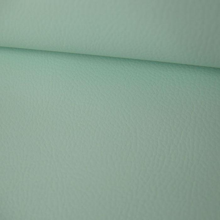 Tissu Simili Cuir - Mint x 10 cm