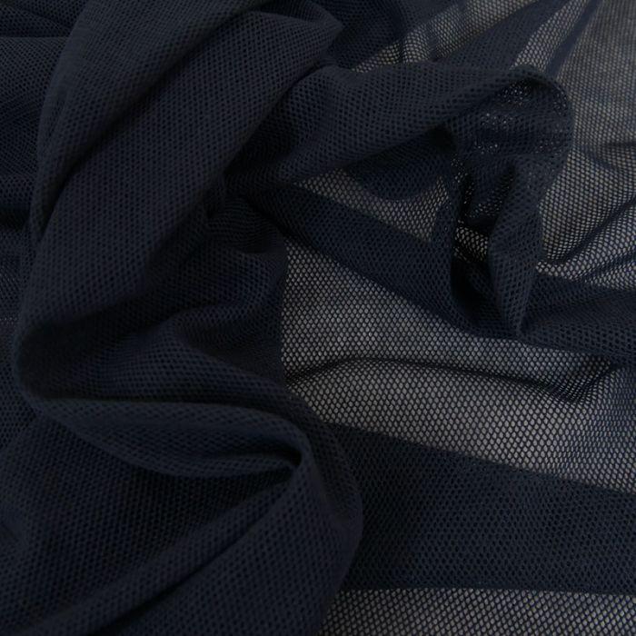 Tulle Bio Coton - Bleu Marine - C. Pauli