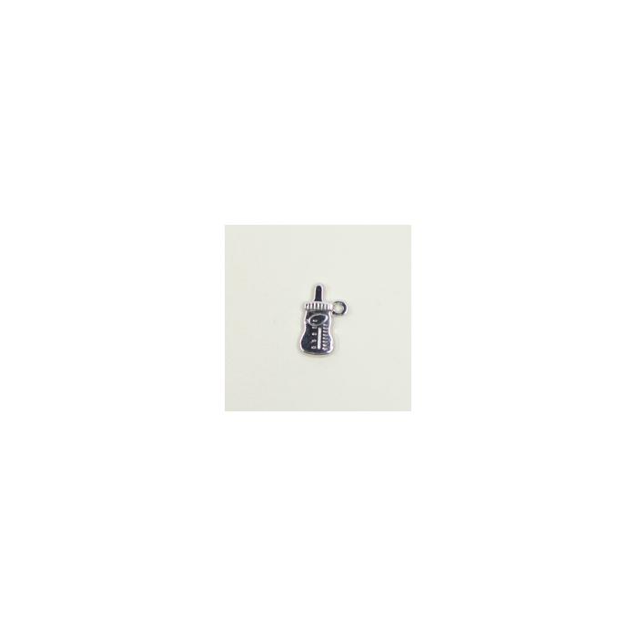 Breloque bibéron 17mm argent x1