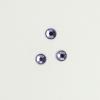 Perles à coller strassées 5mm violet