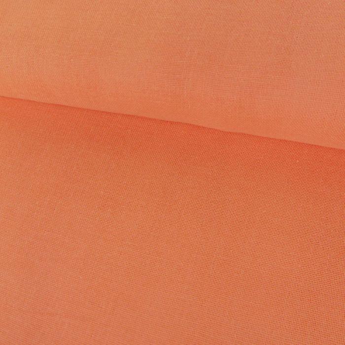 Tissu Double-Gaze Bio - Corail - C. Pauli