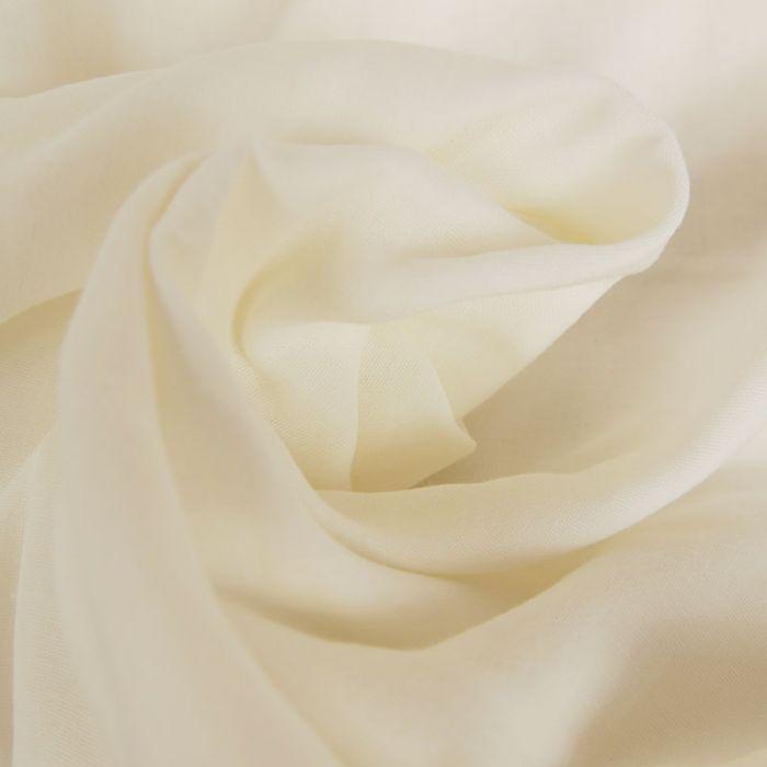 Tissu Double-Gaze Bio - Blanc - C. Pauli