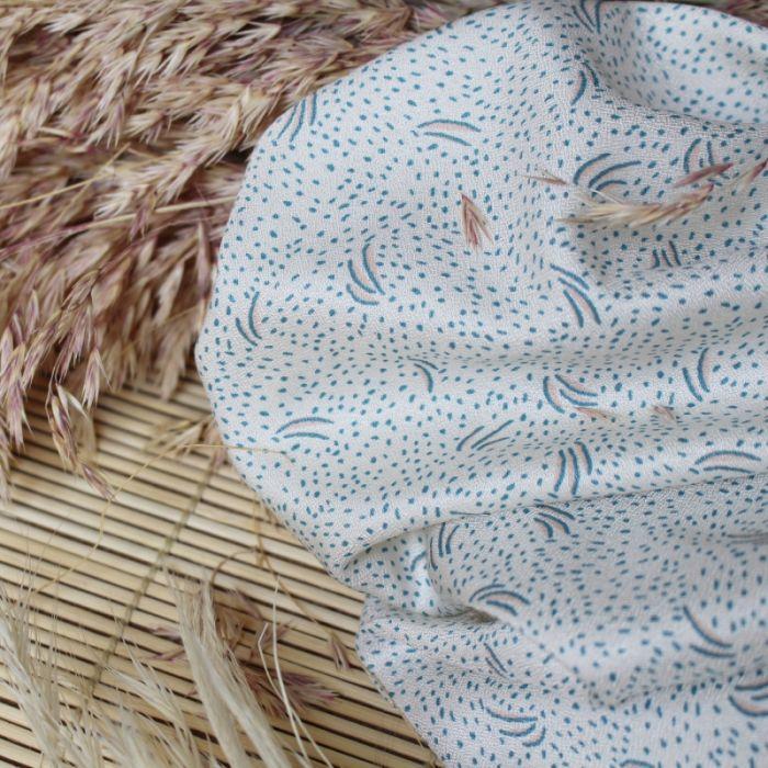 Tissu Dune Off-White - Atelier Brunette x 10 cm