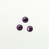 Perles à coller strassées 6mm mauve