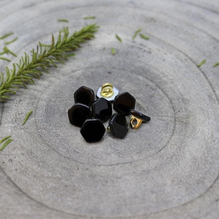 Bouton à pied quartz 10 mm - Atelier Brunette x1