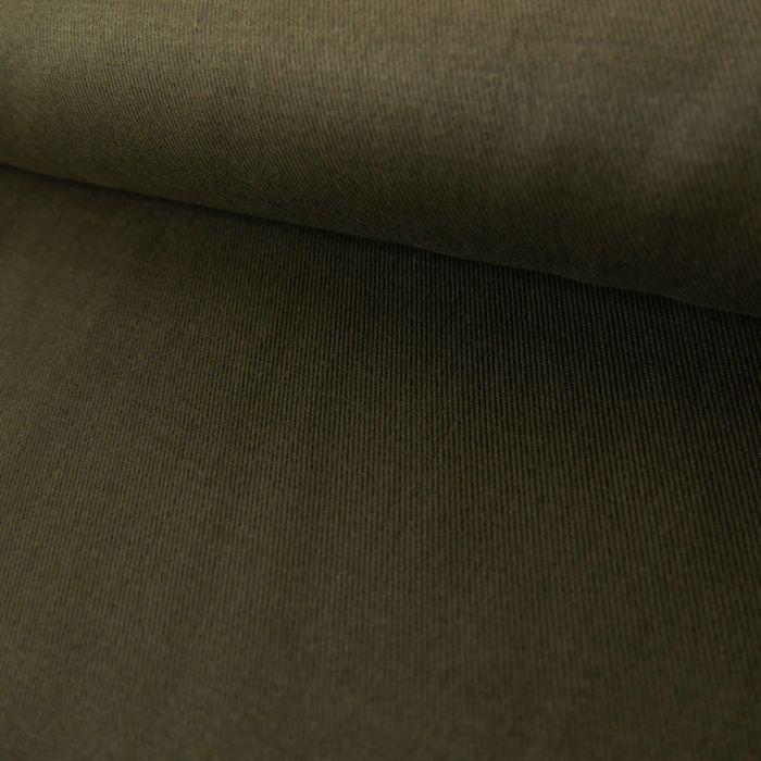Tissu Coton - Kaki Foncé x 10 cm