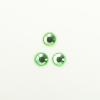 Perles à coller strassées 6mm vert clair