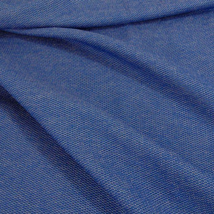 Coupon x 55 cm - Maille souple bleu
