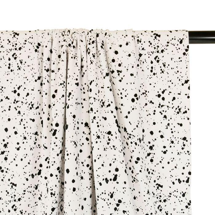 Coupon x 1,80 m - Jersey peinture blanc