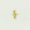 Breloque oiseau 17mm dorée x1