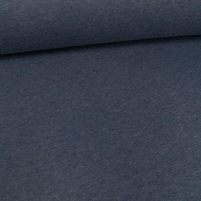 Coupon x 1,15 m - Molleton sweat bleu jeans