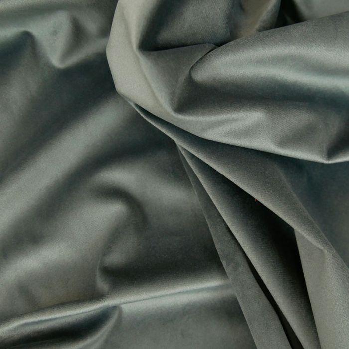 Tissu Velours - Metal x 10 cm