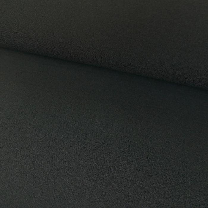 Tissu Polyester Uni Stretch - Gris Mauve x 10 cm