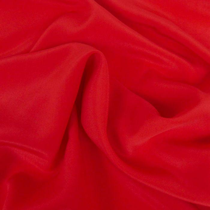 Coupon x 65 cm - Soie fluide rouge