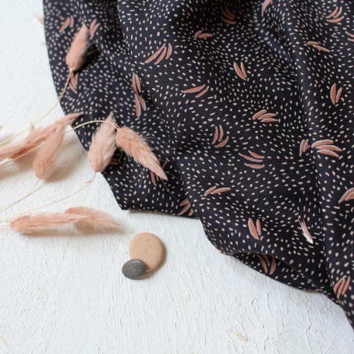 Coupon x 70 cm - Tissu Dune Night - Atelier Brunette