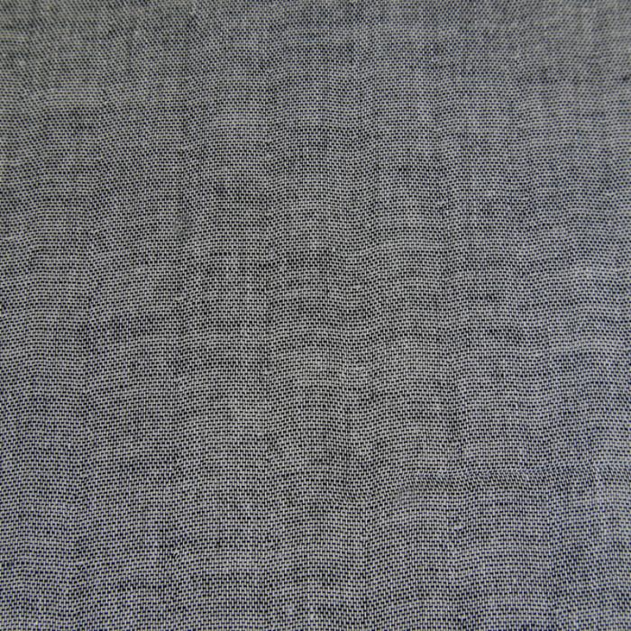 Coupon x 50 cm - Tissu japonais double gaze noir