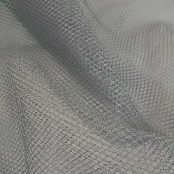 Tissu Filet Mesh - Gris x 10 cm