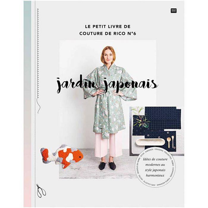 Jardin japonais : le petit livre de couture de Rico n°6