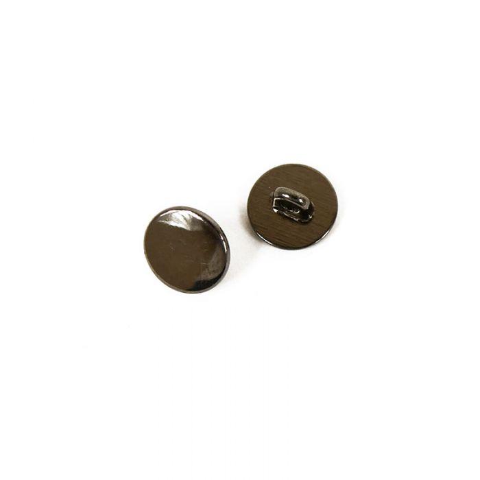 Bouton à pied métal 9 mm x1