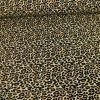 Tissu Polyester Stretch - Léopard x 10 cm