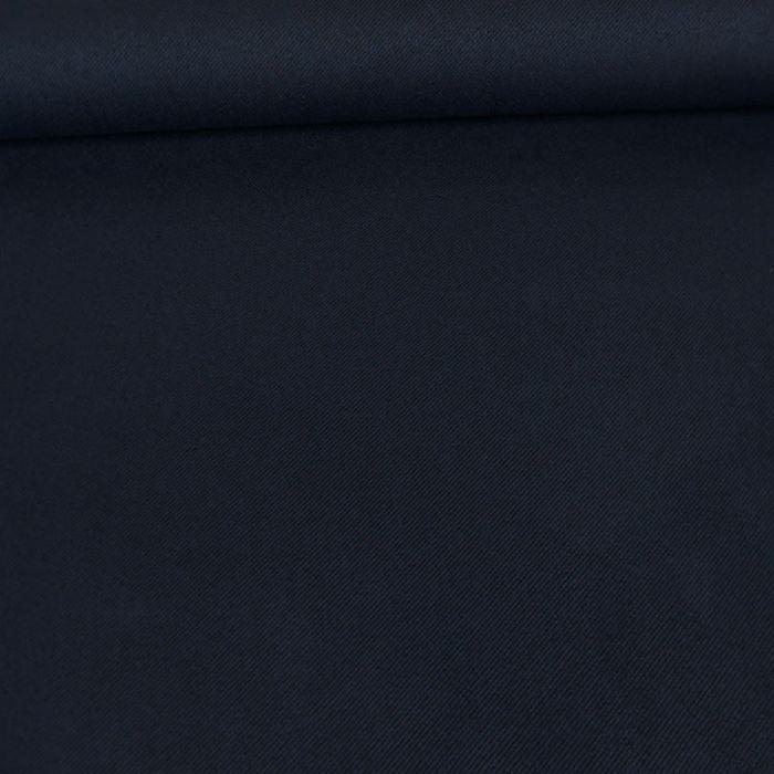 Tissu suédine twill - bleu marine x 10 cm