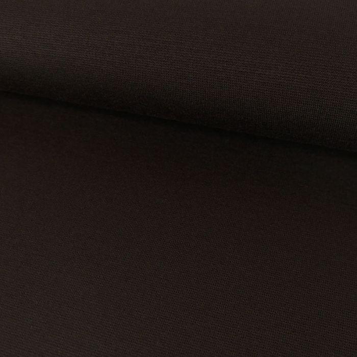 Tissu viscose élasthanne - marron x 10 cm