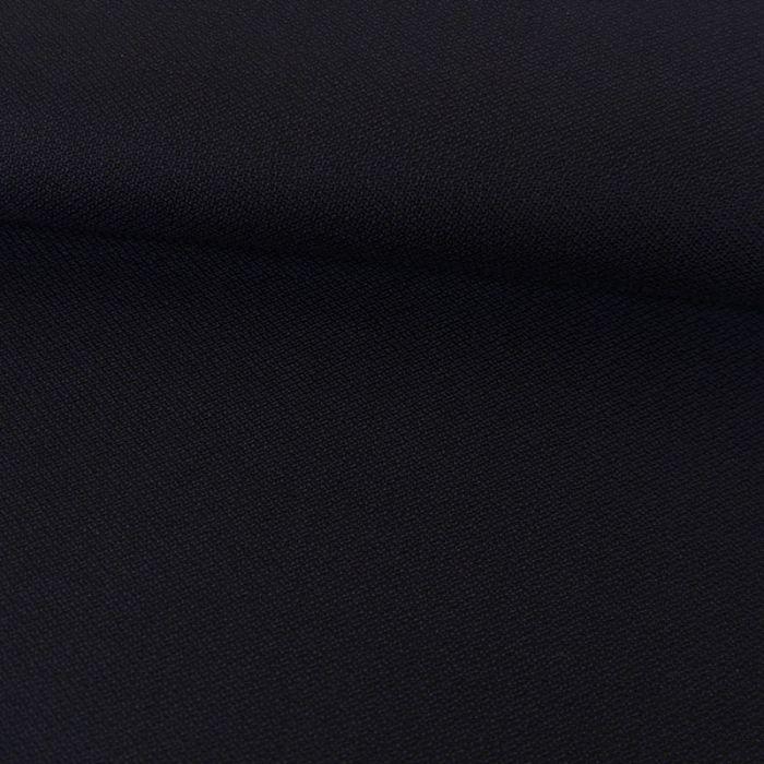 Tissu laine fluide - marine x 10 cm