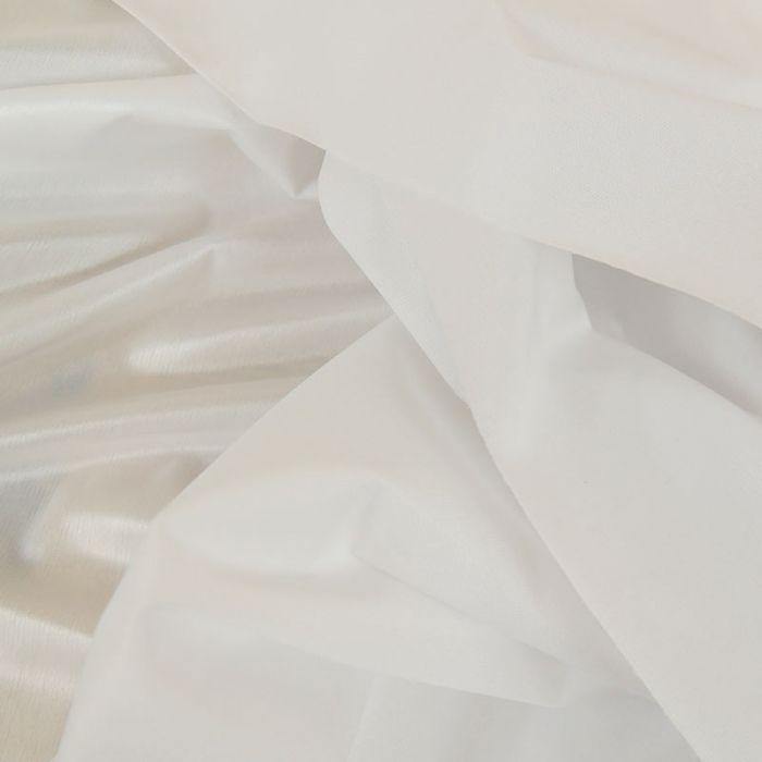 Tissu PUL couches lavables - Blanc x 10 cm