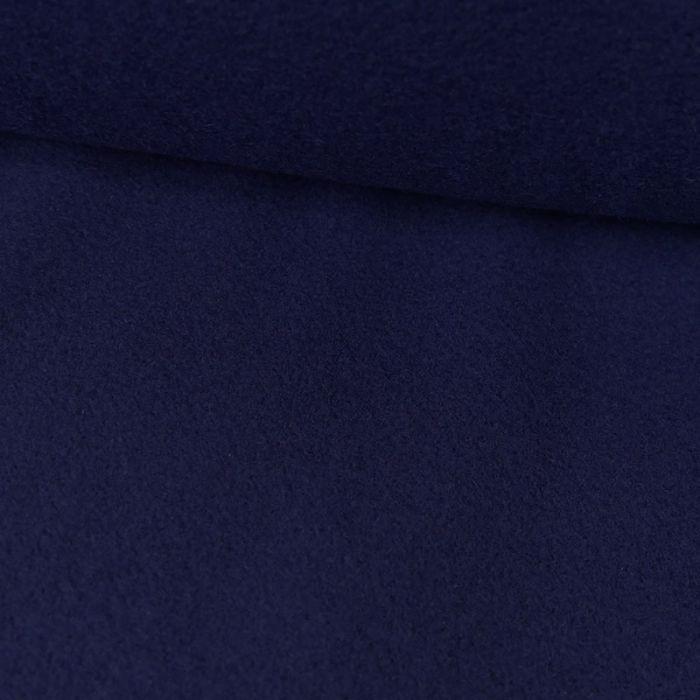 Tissu lainage cachemire doux - bleu roi x 10 cm