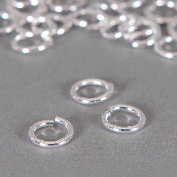 Anneaux ronds ouverts 6 mm x20