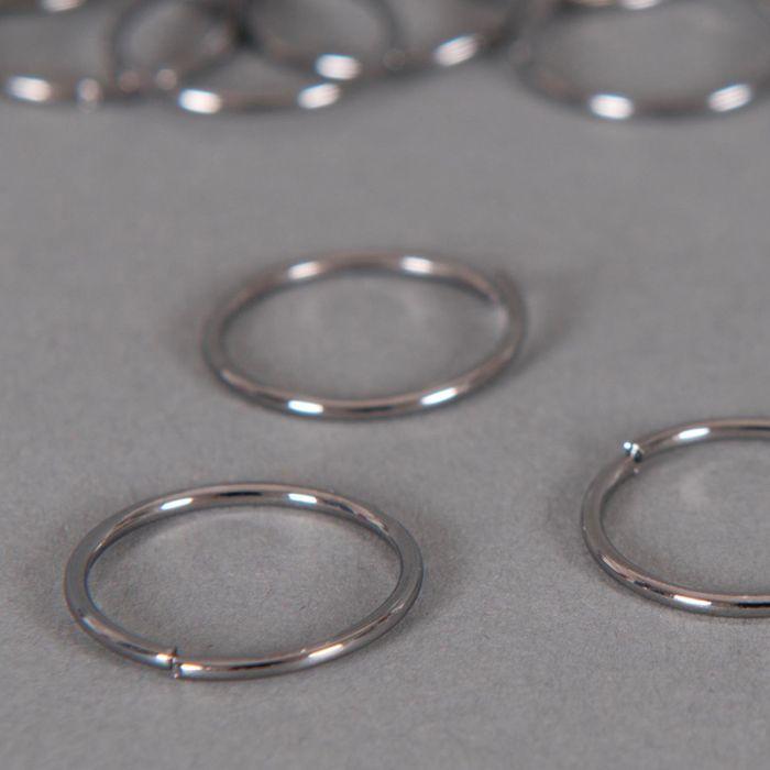 Anneaux ronds ouverts 14 mm x10